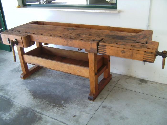Vendita banco da falegname antico macchine per legno biggin renato - Tavolo da falegname vendita ...