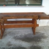 Old workbench for carpenter