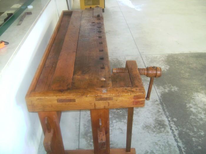 Vendita Banco Da Falegname Antico Macchine Per Legno Biggin Renato